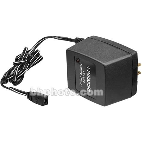 polaroid charger polaroid battery charger for id 104 106799 b h photo