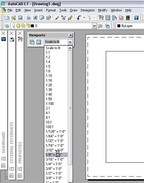 viewport in layout autocad lt is still autocad setting a viewport s scale in a layout