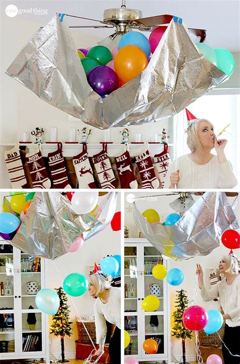new year 2016 diy decorations balloon drop new year s and new years on