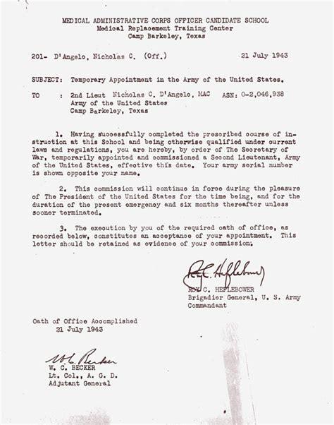 Veteran?s Testimony ? Nicholas C. D?Angelo   WW2 US