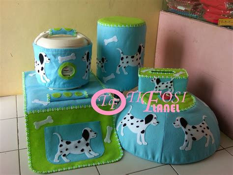 1 Set Sarung Galon Sarung Kulkas List Tv List Kipas Angin Panda tifosi flanel home set tutup galon tutup kulkas
