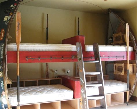 boat bunk bed drift boat bunk beds top bunk is full sized bottoms are