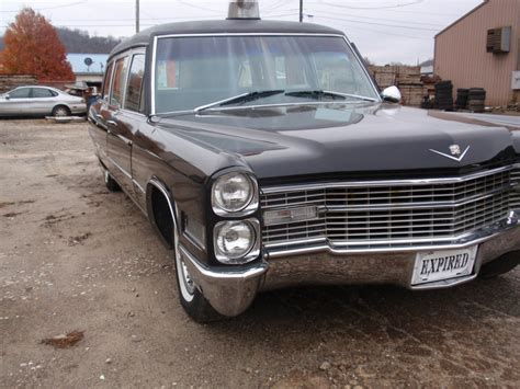 1966 Cadillac Hearse by 1966 Cadillac Fleetwood M M Hearse Ambulance For Sale