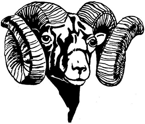 the rams free free clip ram clipart best