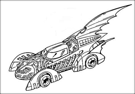 Superhero Cars Coloring Pages | superhero batman coloring pages for boys color zini