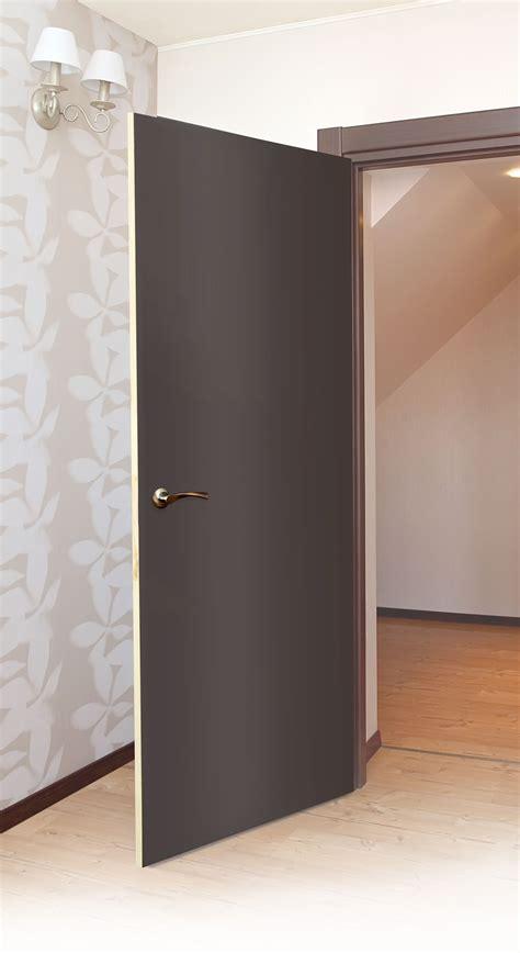 puerta de mdf color chocolate ideal  recamaras  banos