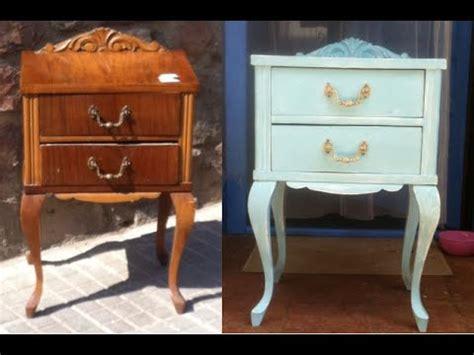 chalk paint leroy restauracion de un mueble con carcoma y pintura efecto