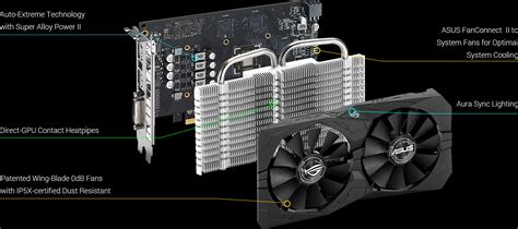 rog strix rx560 4g gaming graphics cards asus usa