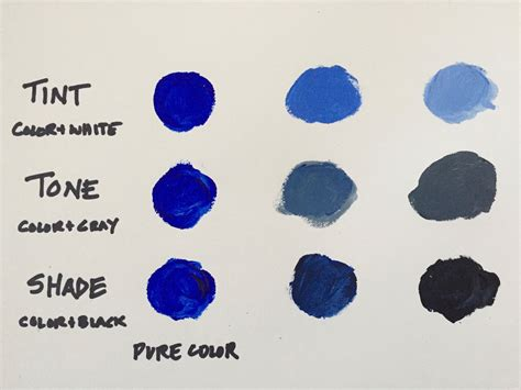 tone color definition mixing colors what you need to about tints tones