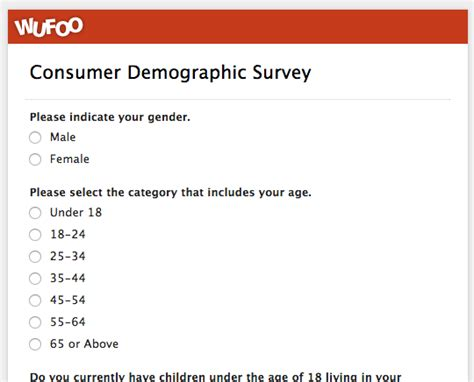 demographic survey template word wufoo 183 top 5 customer feedback and satisfaction form