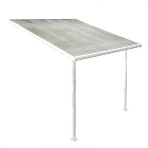 Home Depot Patio Covers Aluminum by Palram 10 Ft X 10 Ft Aluminum And Polycarbonate Patio