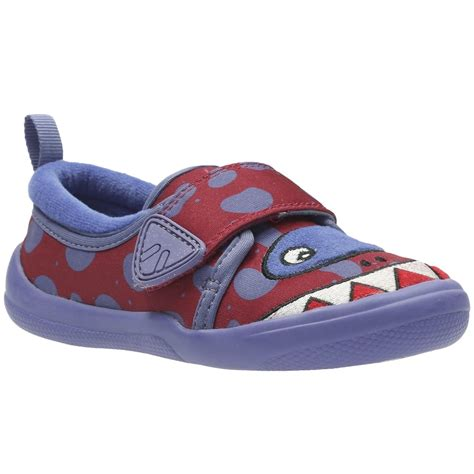 clarks infant slippers clarks cuba jaws infant slippers from