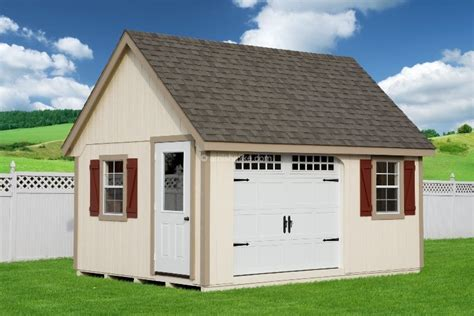 Garages To Rent Lincoln by Manor Garages Amish Mike Amish Sheds Amish Barns