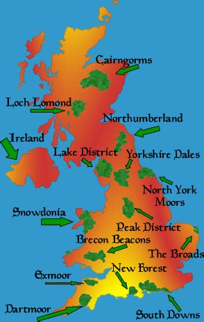 map uk national parks free printable maps map of national parks uk printfree