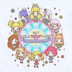 Stiker Yurika Todo chibi yume and koharu aikatsu chibi and