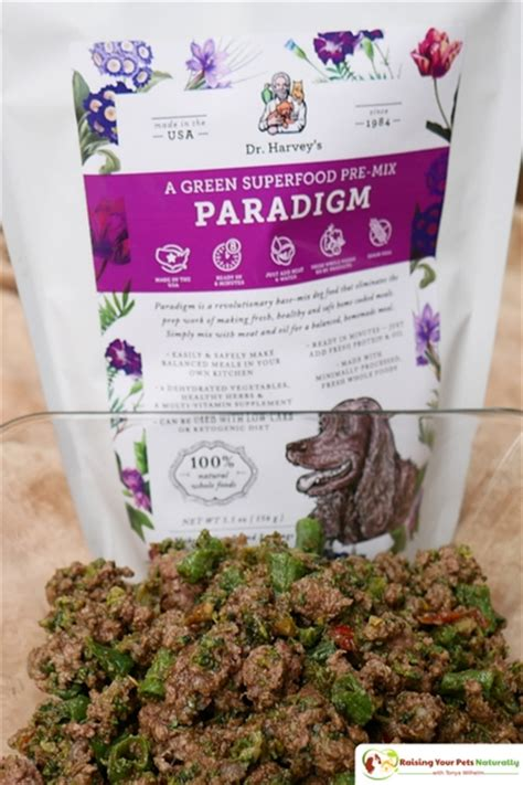 ketogenic diet for dogs dr harvey s paradigm superfood pre mix blend review best food mixes raising