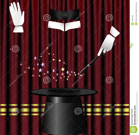 magic curtain magic curtain royalty free stock photo image 16554425