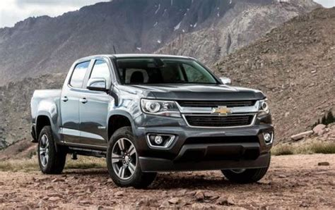 2020 Chevrolet Colorado Updates by 2020 Chevy Colorado Redesign Updates Zr2 Bison Review