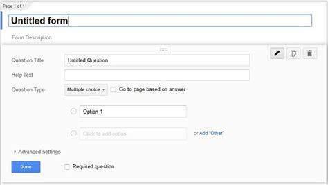 cara membuat kuesioner melalui google form cara membuat formulir online menggunakan google form