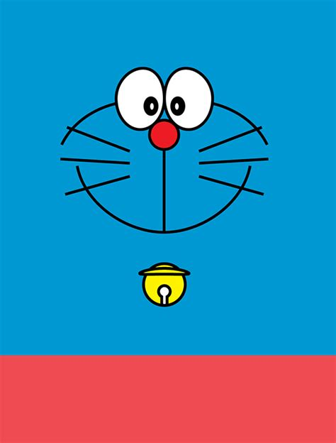 Doraemon Graphic 29 minimalist doraemon on pantone canvas gallery