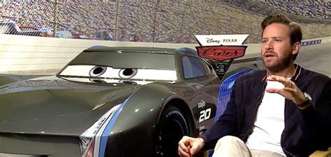 esiste il film cars 3 cars 3 dietro il doppiaggio del film pixar con armie hammer