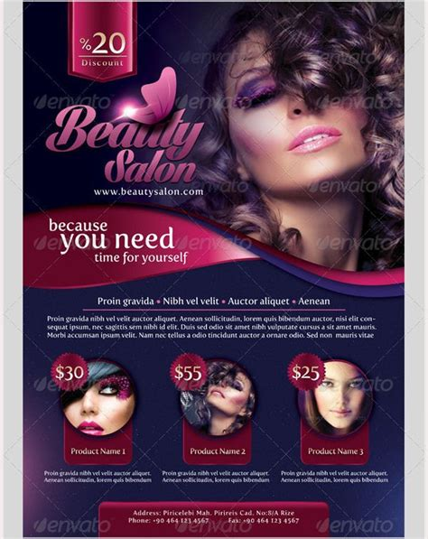 salon flyer templates free 69 best 66 salon flyer templates images on