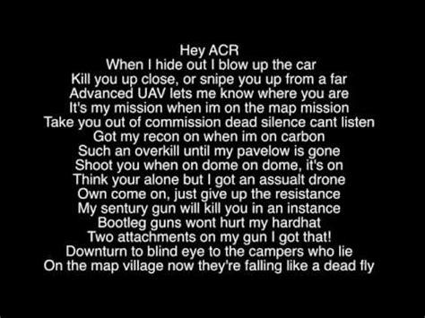 call of duty rack city lyrics