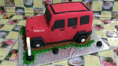 jeep cake jeep rubicon cake how to