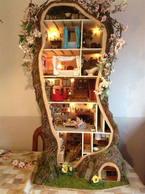 miniature houses tiny designer tree houses miniature tree house