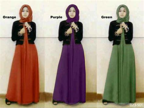 Gamis Zaen Dress Ori Hijabig Longdress Maxi Katun Jepang baju gamis remaja modern melisa s257 busana muslim maxi plus blazer terbaru