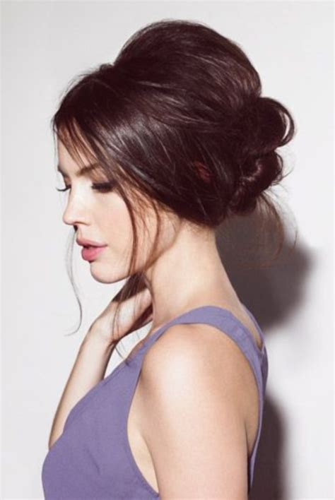 hairstyles for party bun 85 stunning bouffant updo hairstyles for this christmas