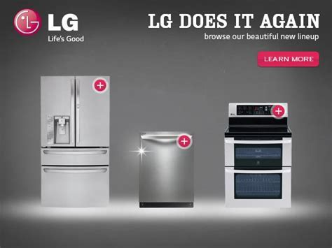 Life's Good in the Kitchen with LG Home Appliances #