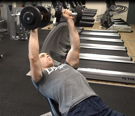 touching chest on bench press how to incline dumbbell bench press ignore limits