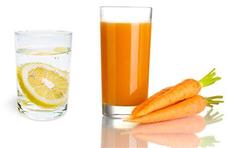 Carrot Lemon Juice Detox by Top Five Detox Friendly Drinks Sportsister