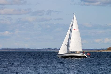 sailboat in water free photo sailboat the sea the water free image on