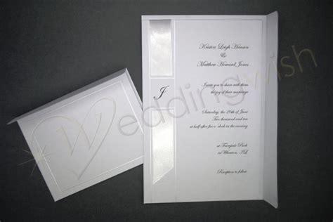 monogram wedding invitation kits wedding wilton monogram ribbon invitation kit x 25