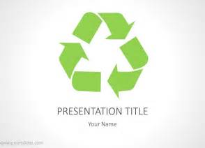 powerpoint templates recycling recycling powerpoint background