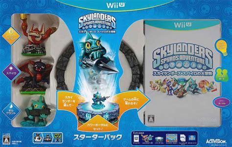 Skylander Spyros Adventures Wii skylanders spyro s adventure box for wii u gamefaqs