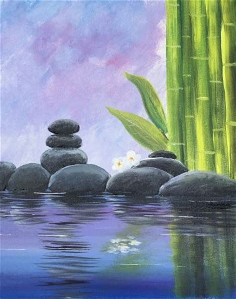 paint nite zen 1000 ideas about easy painting projects on
