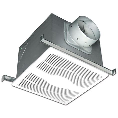 Bathroom Exhaust Fan Light Heater Reviews Delta Breez Radiance Series 80 Cfm Ceiling Exhaust Bath Fan With Light And Heater Rad80l The