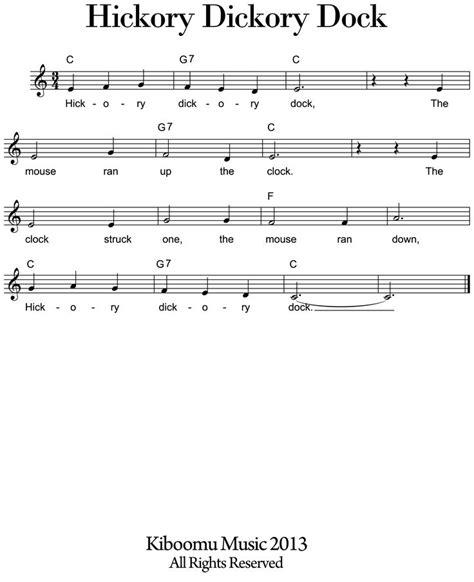 pin by kiboomu kids songs on kids songs pinterest kids sheet music google search music in key of c