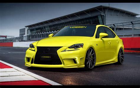 custom lexus is350 f sport 2014 lexus is 350 f sport by vossen wheels static 4