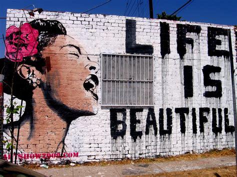 life is beautiful blogspot banksy life is beautiful wallpaper 109971
