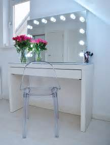 Ikea Vanity Table Malm Makeup Storage Ideas Ikea Malm Makeup Vanity With Mirror