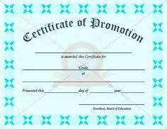 promotion certificate template 1000 images about certificate template on