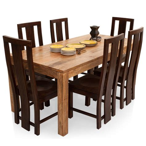6 Seater Dining Tables Gresham Capra 6 Seater Dining Table Set Thearmchair