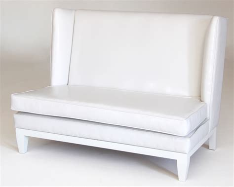 changeable couch white slipper couch with interchangeable cushion prop