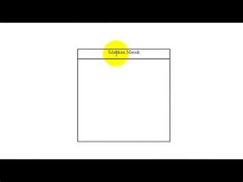tutorial membuat form login dengan css html dkonslet cara membuat form login dengan html css dan php youtube