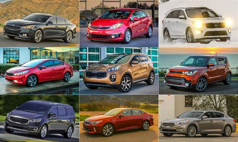 kia vehicle lineup what s the most popular kia in america hint not the k900