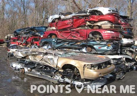salvage yards near me points near me